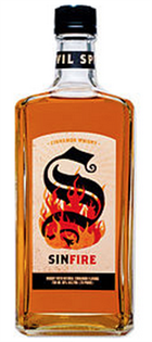 Sinfire Whisky Cinnamon 750ml